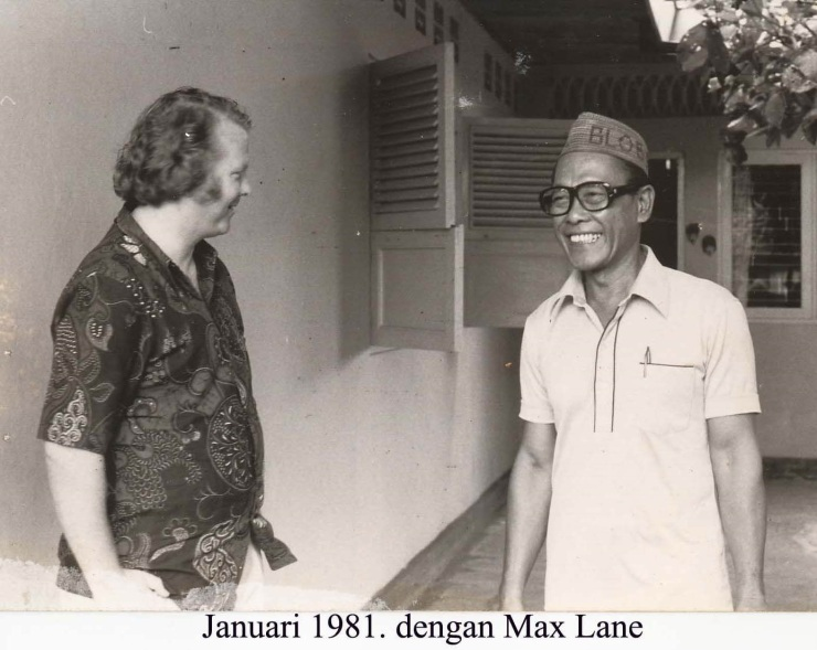 Max and Pramoedya 1981